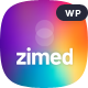 Zimed - App Landing WordPress Theme