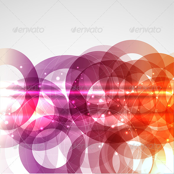 Abstract circles - Backgrounds Decorative