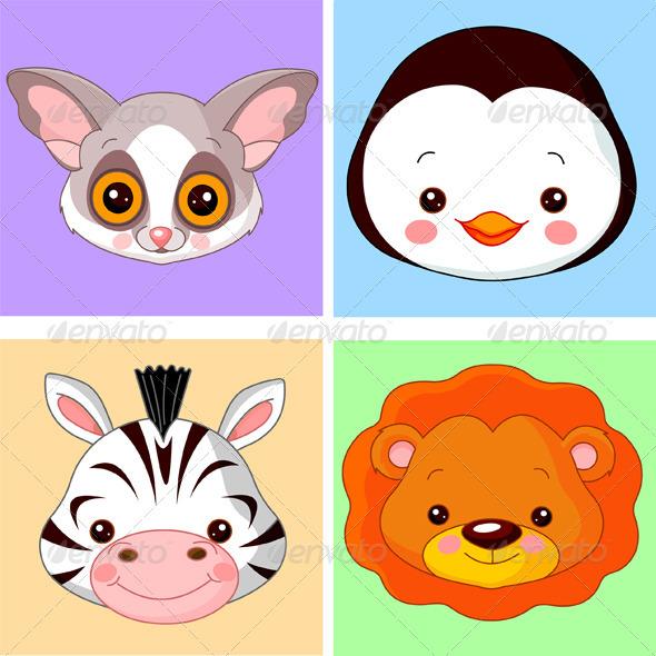 Animal avatars - Animals Characters