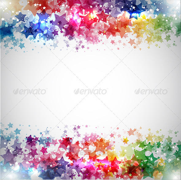 Abstract stars - Backgrounds Decorative