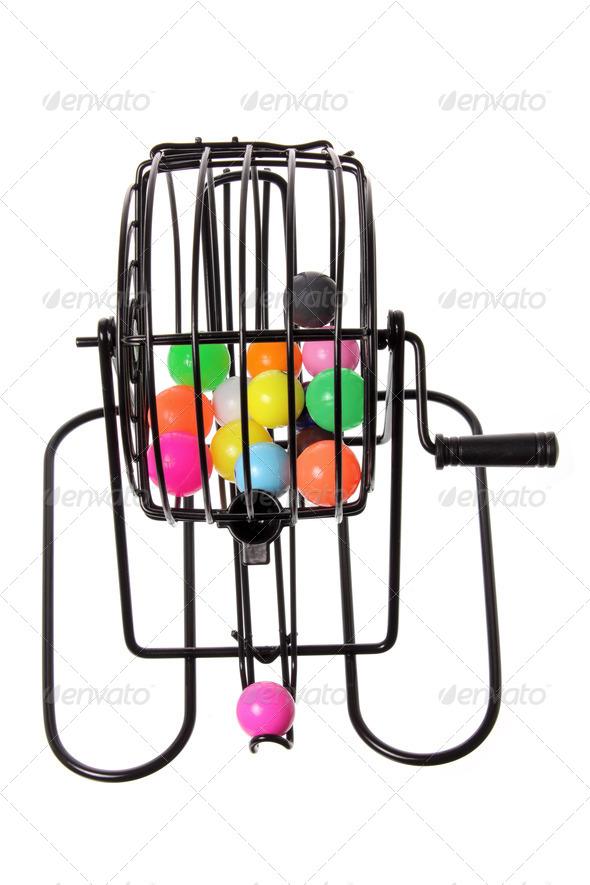 Bingo Game Cage - Stock Photo - Images