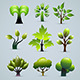 Green Trees Collection - GraphicRiver Item for Sale