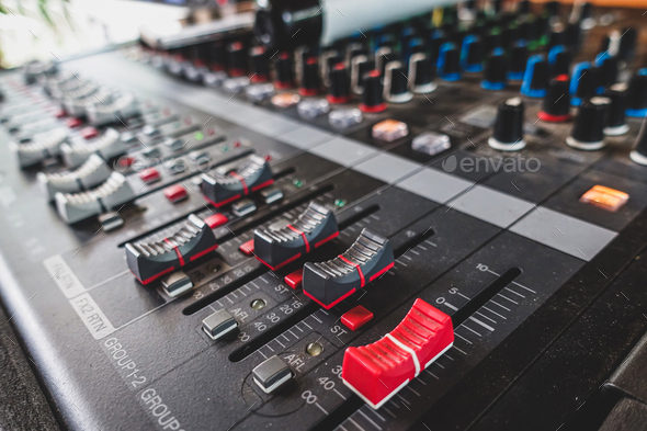 Sound Mixer - Stock Photo - Images