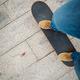 Skateboarder skateboarding outdoors on sunny morning - PhotoDune Item for Sale