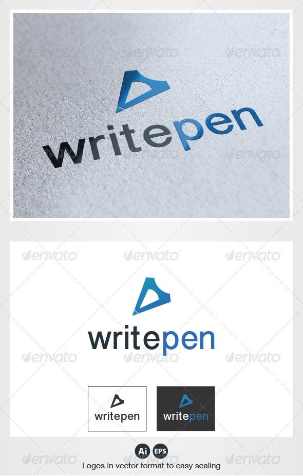 Write Pen Logo - Symbols Logo Templates