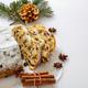 Christmas stollen cake, Christstollen, sweet german seasonl bread - PhotoDune Item for Sale
