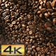 Throwing Roasted Coffee Beans - VideoHive Item for Sale