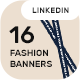 Fashion LinkedIn Banner Templates