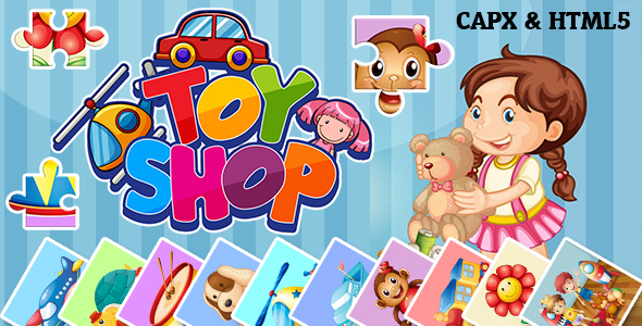 Toy Shop Jigsaw Puzzle (CAPX and HTML5)