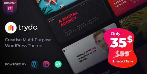 Trydo - Creative Agency & Portfolio Theme