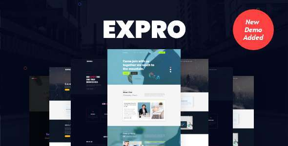 Expro - Multipurpose  HTML5 Onepage Template