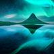 Aurora borealis Northern lights over Kirkjufell mountain - PhotoDune Item for Sale