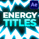 Energy Titles Pack | After Effects - VideoHive Item for Sale