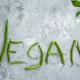 Green bean Vegan word, grunge abstract background - PhotoDune Item for Sale