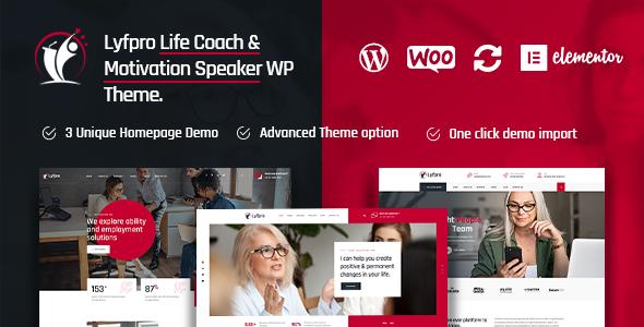 Download Lyfpro – Life Coach WordPress Theme Free Nulled