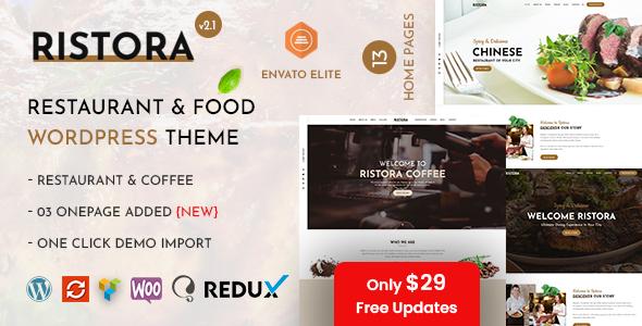 Ristora - Restaurant & Food WordPress Theme