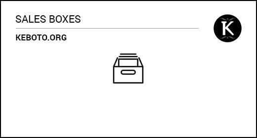 Sales Boxes