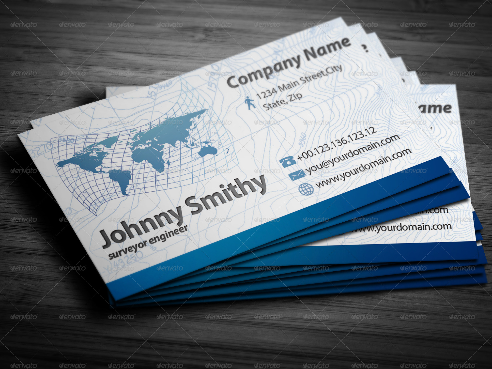 Surveyor business cards by nonerazvan graphicriver surveyor business cards business cards print templates preview image set01frontg reheart Choice Image