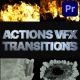 Smoke And Fire Transitions | Premiere Pro MOGRT - VideoHive Item for Sale