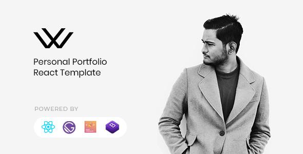 Waxon - Personal Portfolio React Template