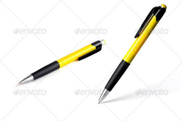 vertical isolated pen - Stock Photo - Images