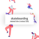 Skateboarding - Character Set - VideoHive Item for Sale