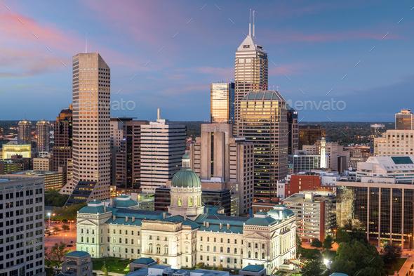 ndianapolis, Indiana, USA - Stock Photo - Images