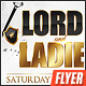 Lords And Ladies Flyer Template - GraphicRiver Item for Sale