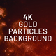 Red Particles 4K Background - VideoHive Item for Sale