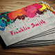 Graphic / Paint Artist Business Card - GraphicRiver Item for Sale