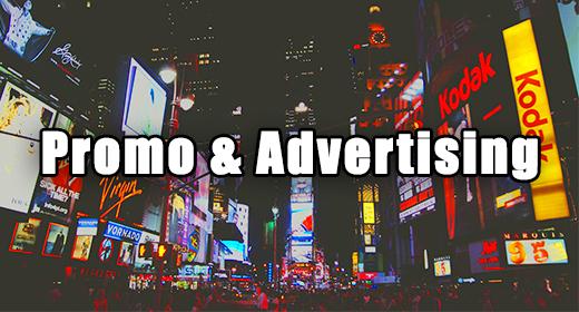 Promo & Advertising