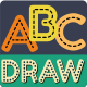 Draw Alphabets - HTML5 Game