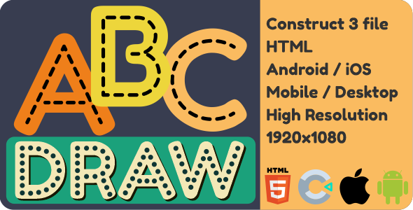 Draw Alphabets - HTML5 Game