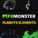 Flash FX Elements Pack 02 | DaVinci - VideoHive Item for Sale