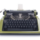 vintage typewriter isolated at white background - PhotoDune Item for Sale