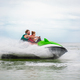 couple having fun on water scooter summer sea activity - PhotoDune Item for Sale