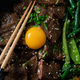 Close view of Korean Beef Bulgogi, grilled beef steak with spicy sauce - PhotoDune Item for Sale