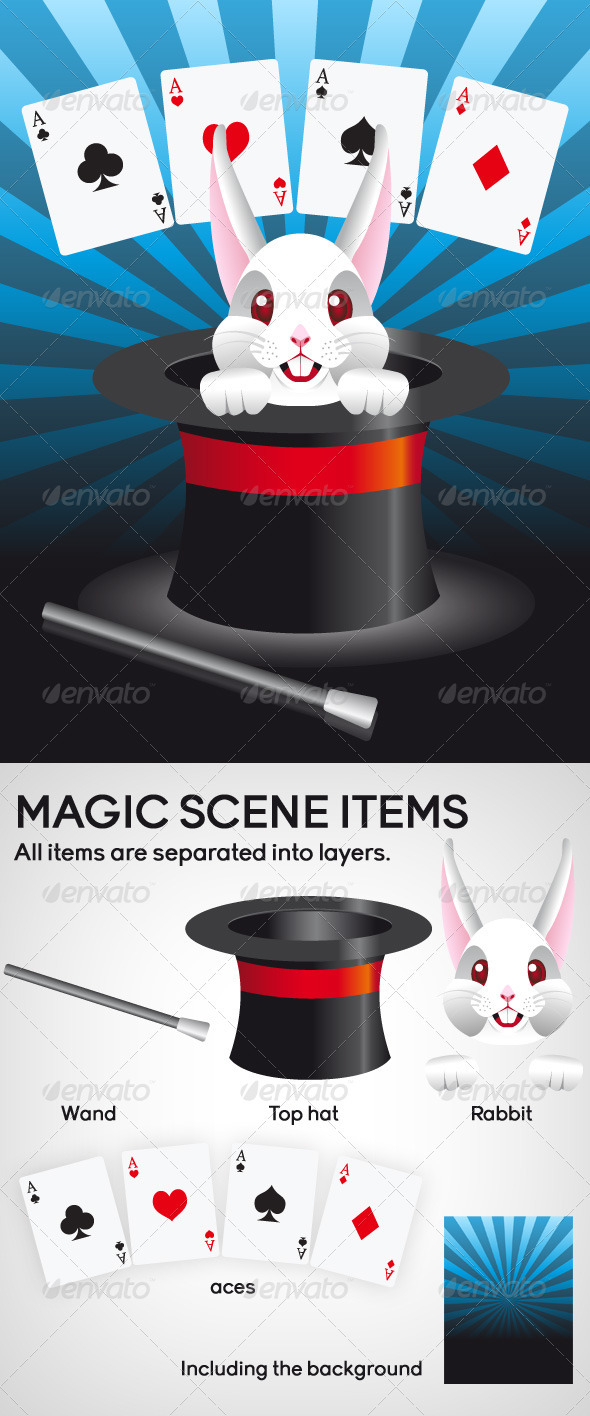 Magic Scene - Miscellaneous Vectors