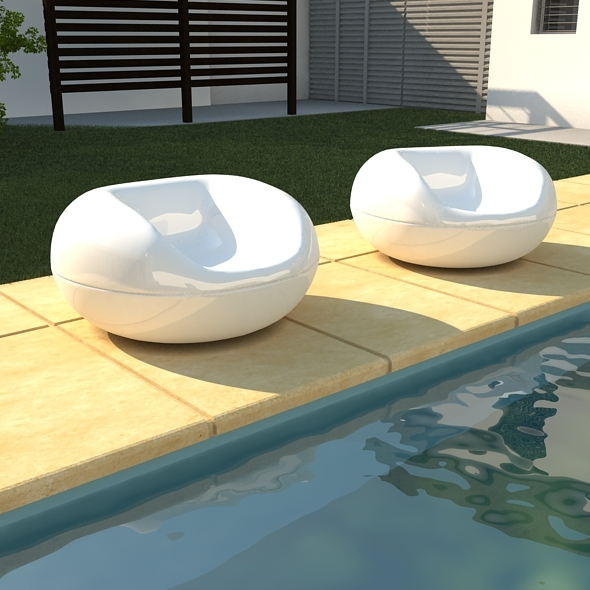 Gyro Chair - 3DOcean Item for Sale