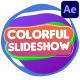 Colorful Slideshow | After Effects