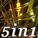 Neon Crystal - VJ Loop Pack (5in1) - VideoHive Item for Sale