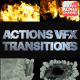 Smoke And Fire Transitions | Motion Graphics - VideoHive Item for Sale