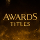 Awards Titles - VideoHive Item for Sale