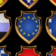 European flags-badges. - GraphicRiver Item for Sale