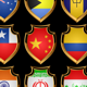 Flags-badges. - GraphicRiver Item for Sale