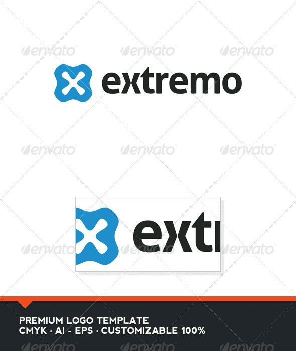 Extremo Logo Template - Abstract Logo Templates