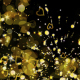 Frame Gold Particles Hearts - VideoHive Item for Sale