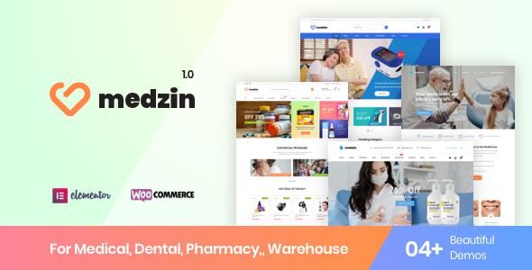 Medzin – Multipurpose Medical WooCommerce Theme