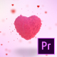 Valentine Hearts Logo Reveal - VideoHive Item for Sale