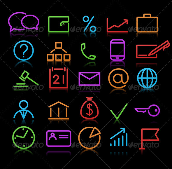 Business icons - Conceptual Vectors